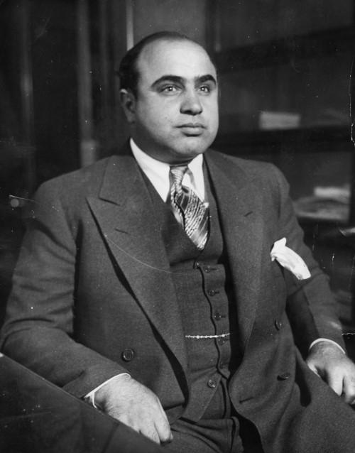 Аль Капоне (фото 1930 г.)